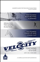 D6: Velocity Extra Teaching Guide for Young Teens, Summer 2020
