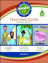 D6: Adventure Kids Extra Teaching Guide, Winter 2018-19