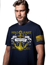 Hold Fast Anchor Shirt, Navy Blue, Small