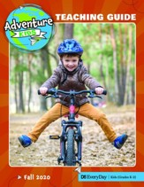 D6: Adventure Kids Extra Teaching Guide for Grades K-1, Fall 2019