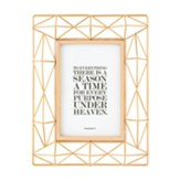To Everything There Is A Season, Retirement, Ecclesiastes 3:1, Geometric Framed Art, Copper