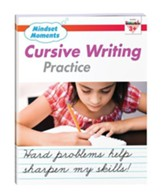 Mindset Moments: Cursive Handwriting  Practice, Grades 3+
