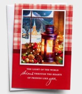 Light of the World Christmas Cards, Box of 18