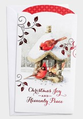 Christmas Joy, 10 Money or Gift Card Holder
