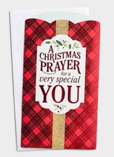Christmas Prayer Money or Gift Card Holders, Box of 10