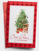 Joy and Peace Christmas Cards, Box of 18