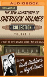 The New Adventures of Sherlock Holmes, Collection 1--Twelve Original Radio Broadcasts (OTR) on MP-3 CD