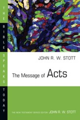 The Message of Acts - eBook