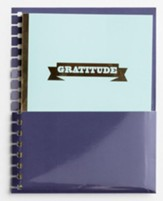 Gratitude, Agenda Planner Jotter   with Pocket Holder Insert