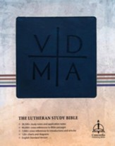 The Lutheran Study Bible - ESV - Blue/Gray