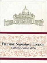 NABRE Catholic Family Bible, Slipcased Signature Edition, White