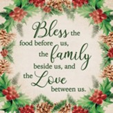Bless The Food Before Us, Ceramic Trivet