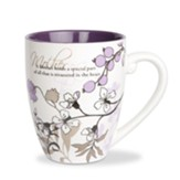 A Mother Holds a Special Part of All That Is Treasured in the Heart Mug