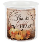 Give Thanks With a Grateful Heart Dip Chiller