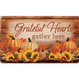 Grateful Hearts Gather Here Doormat
