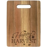 Happy Harvest Wood Cutting Board