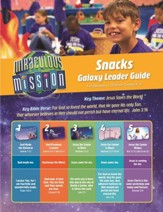 Miraculous Mission: Galaxy Snack Guide