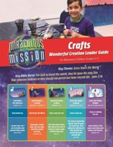 Miraculous Mission: Wonderful Creation Craft Guide