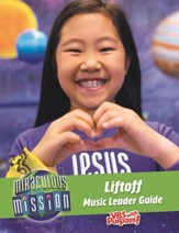 Miraculous Mission: Liftoff Music Guide CD & DVD