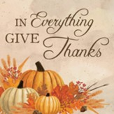 In Everything Give Thanks, Pumpkin, Coaster