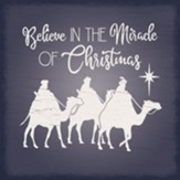 Believe In the Miracle of Christmas Coaster