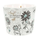 Aunt, Aunts Hold a Special Place in Your Heart Soy Candle