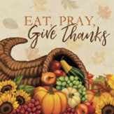 Eat, Pray, Give Thanks Trivet