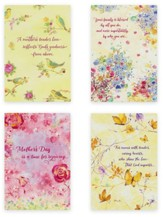 Watercolors Mother's Day Cards, Box of 12
