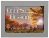 Count Your Blessings Light Box