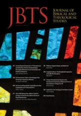 Journal of Biblical and Theological Studies, Issue 3.2