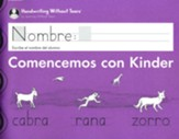 Comencemons con Kinder Student  Workbook Transitional K
