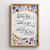 May the Lord Bless You Framed Wall Art