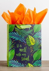 It Is Well With My Soul, Gold Foil Stamped, Giftbag, Large