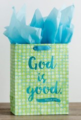 God is Good, Foil Stamped, Giftbag, Medium