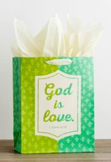 God is Love Giftbag, Large