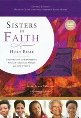 KJV Sisters in Faith Holy Bible--soft leather-look, grape