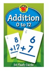 Brighter Child Addition 0 to 12  Flash Cards