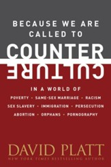 Because We Are Called to Counter Culture: How We Are to Respond to Poverty, Same-Sex Marriage, Racism, Sex