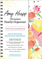 2020 Amy Knapp Christian Family Organizer