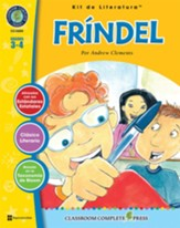Fríndel, Kit de Literatura (Frindle Literature Kit), Gr. 3-4