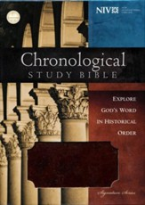 NIV Chronological Study Bible,  Leathersoft, brown/auburn
