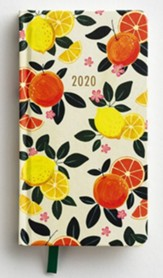 2020 Lemons and Oranges Premium Pocket Planner