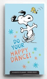 2020/2021 Peanuts, Do Your Happy Dance, Pocket Planner