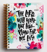 2020 The Lord Will Work His Plans For My Life Agenda Planner