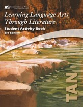 Learning Language Arts Through  Literature, Grade 6, Student  Activity Book (Tan; 3rd Edition)