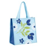 Grateful Thankful Blessed Tote Bag