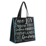 Fruit of the Spirit Tote Bag, Black