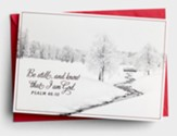 Be Still and Know Christmas Cards, Box of 18