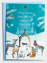 Every Creature Christmas Cards, Box of 18