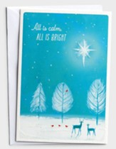 All is Calm, All is Bright Christmas Cards, Box of 18